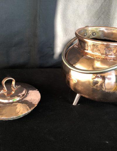 Marmite Cuivre Poli Miroir