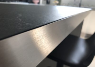 Tour de Table Inox Brossé