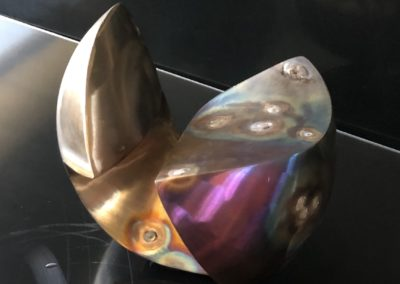 Hélice Bronze Poli Miroir