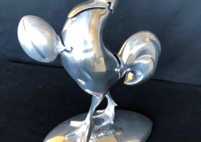 Oeuvre d'Art Aluminium