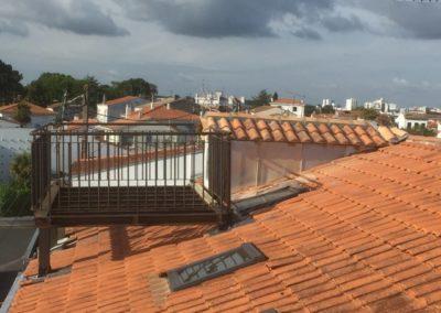 Terrasse de toit Altane Corten