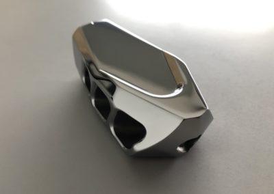 Nez de Bouche Fusil Inox Poli Miroir