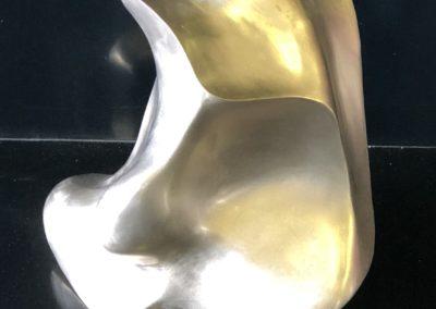 Oeuvre d'Art Bronze Polie
