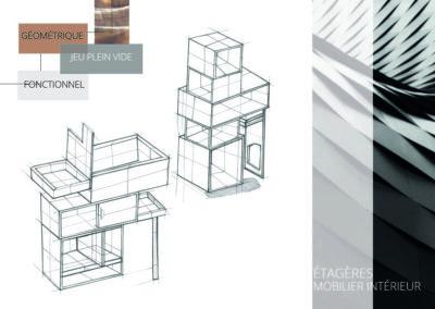 Etagère cube Design