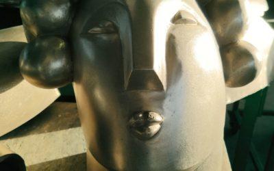 Oeuvre Statue Femme en Bronze