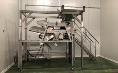 Réalisation d'une structure en Inox pour l'industrie agroalimentaire