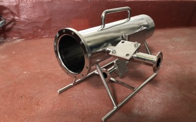 Electropolissage Canister Inox